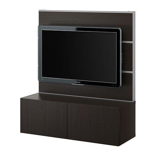 BESTÅ/FRAMSTÅ TV/storage combination IKEA$170 Apartment Tweaking