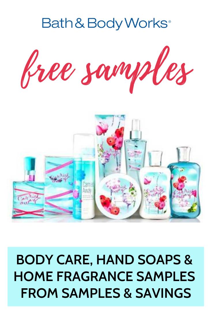 Free Bath Body Works Samples Bath And Body Works Bath And Body Fragrance Samples