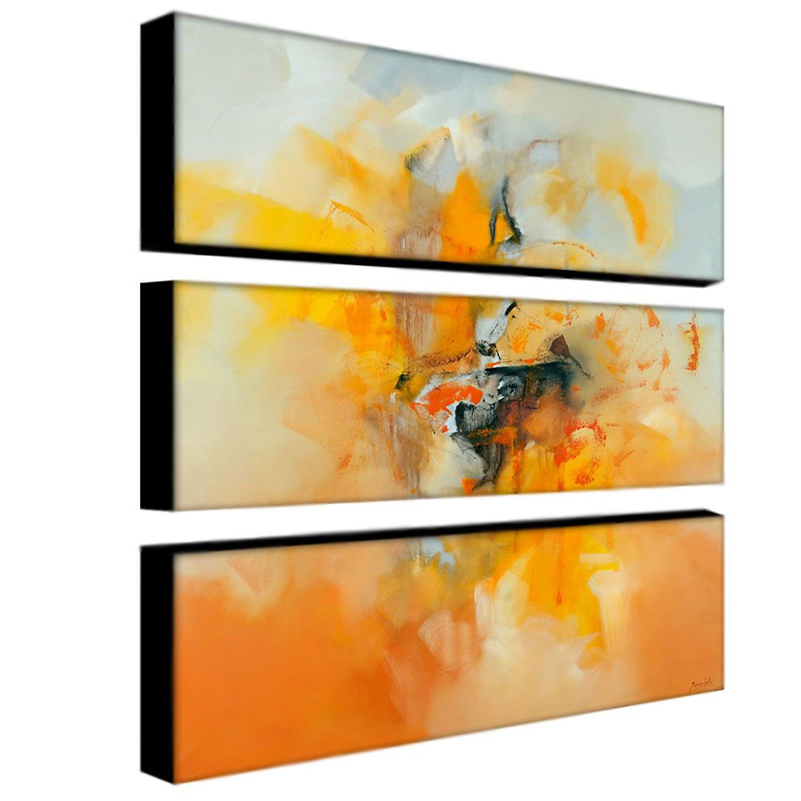 Trademark Fine Art Three 10x32 inch pieces \