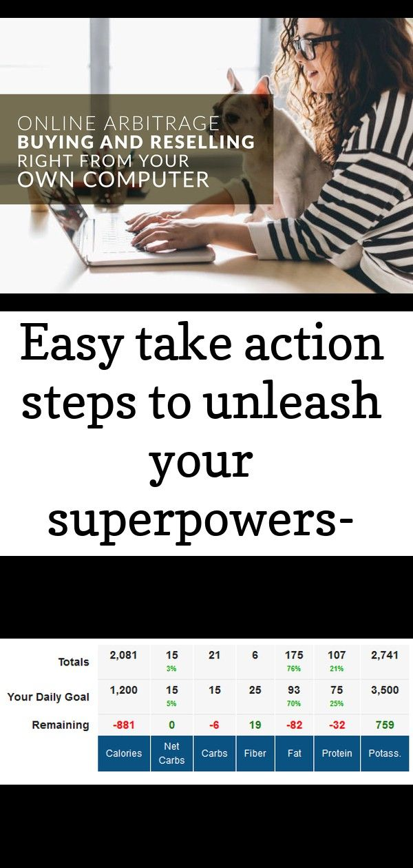 Easy take action steps to unleash your superpowers- free for limited time 34