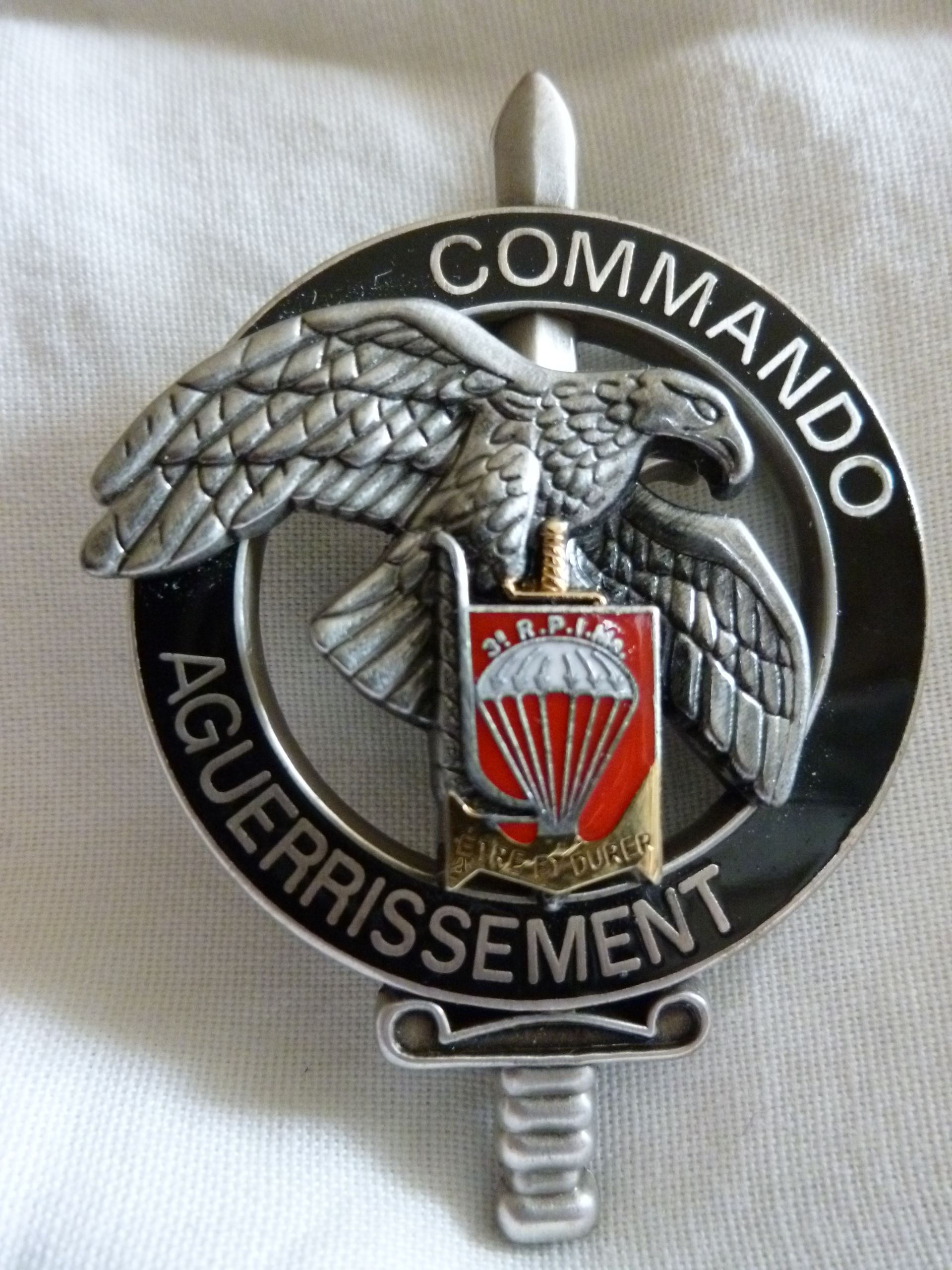 FRENCH COMMANDO TRAINING CENTRE SUBDUED PATCH