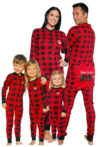 Norman Rockwell Christmas Matching Family Pajamas