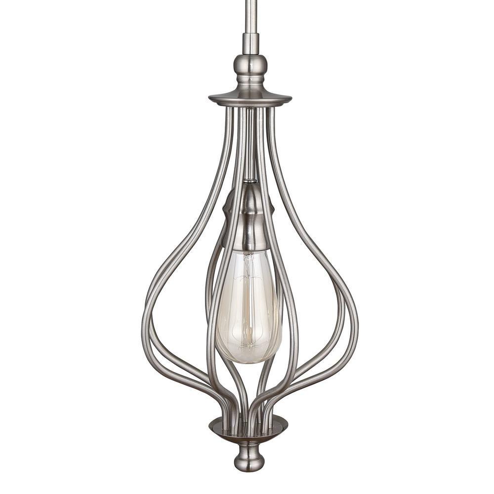 11++ Home depot pendant lights brushed nickel ideas