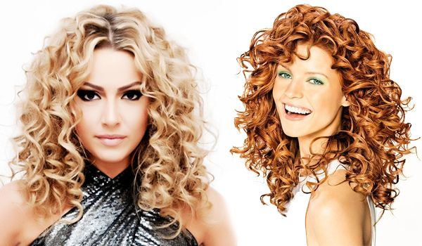 Types of Spiral Hairstyles   Perms, Straightener and Perm hairstyles