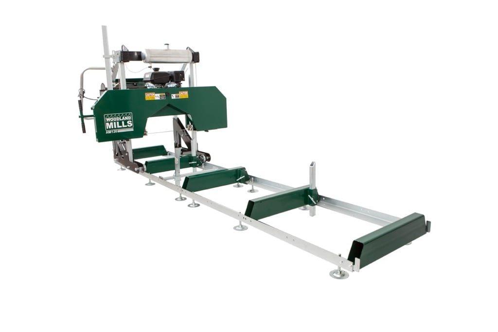 Hm130max portable sawmill lumber mill portable saw mill