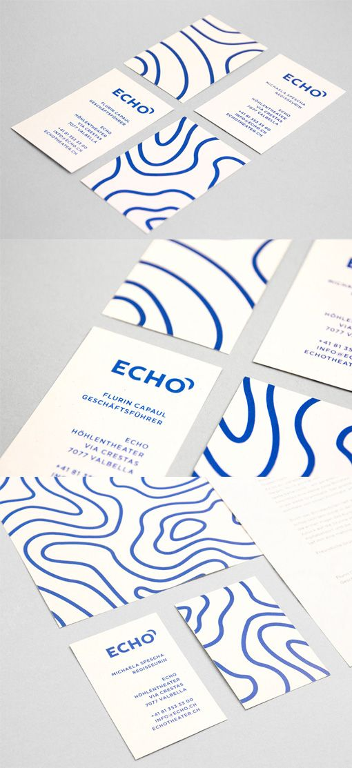 Simple And Stunning One Colour Business Card Design | print, design ...