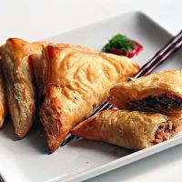 Chinese Pastries with Hoisin Chicken by Steamy Kitchen