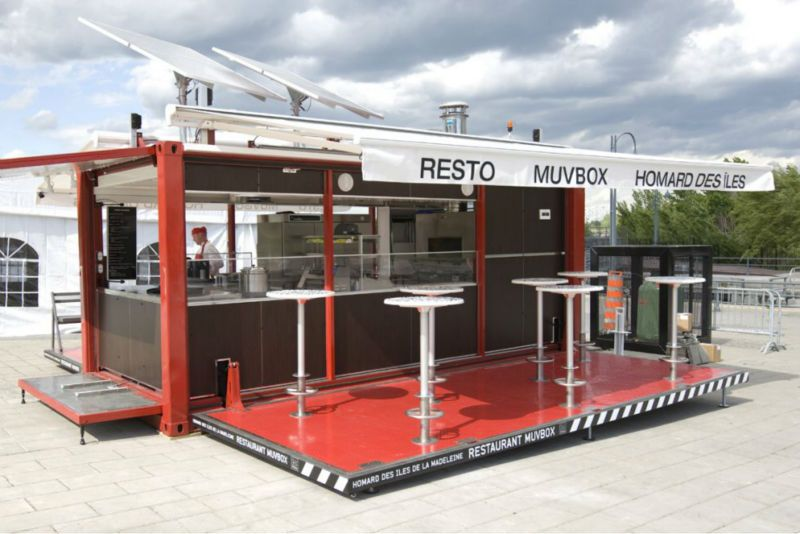 Container Restaurant - Buy Mobile Restaurant,Prefabricated ...