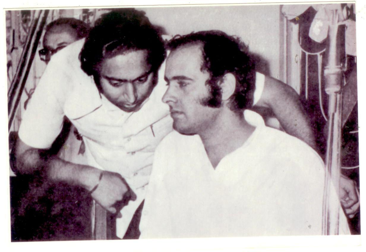 Image result for kamalnath with indira gandhi