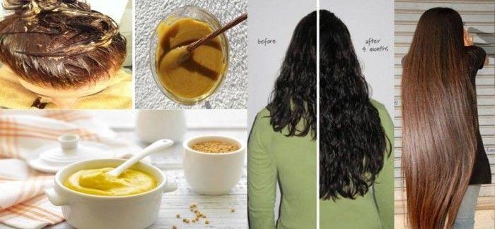 Masque pour faire pousser les cheveux fait maison