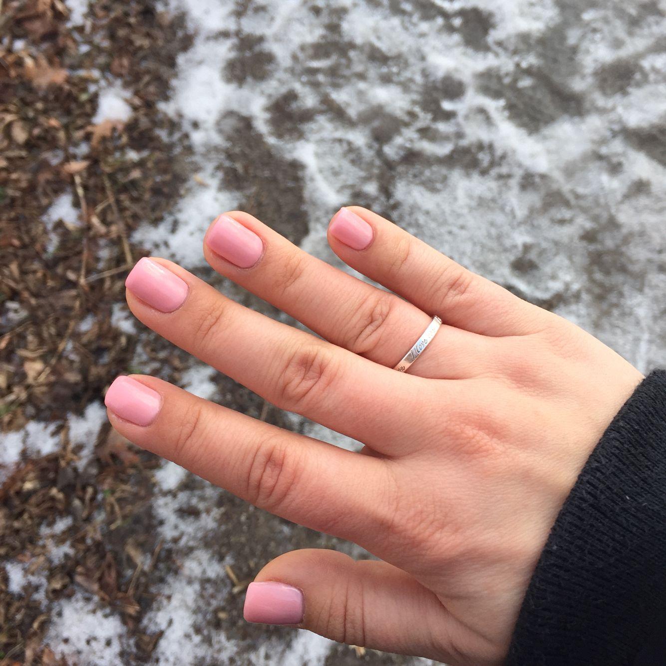 Pink Gel Nails - OPI axxium gel : \