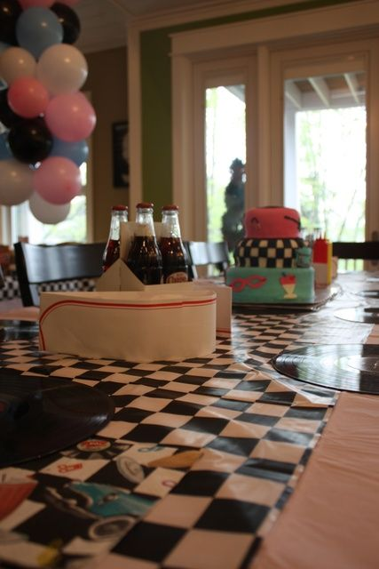 1950s Birthday Party | CatchMyParty.com