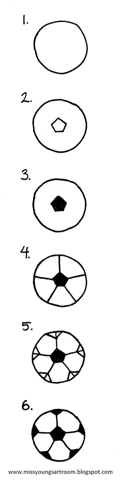 How To Draw A Soccer Ball | Çizimler, Desenler, Futbol