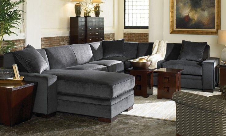 Stickley 300 Series Selectional Sofa Livingroom Familyroom Sectional Stickley Furniture Furniture Sectional Sofa