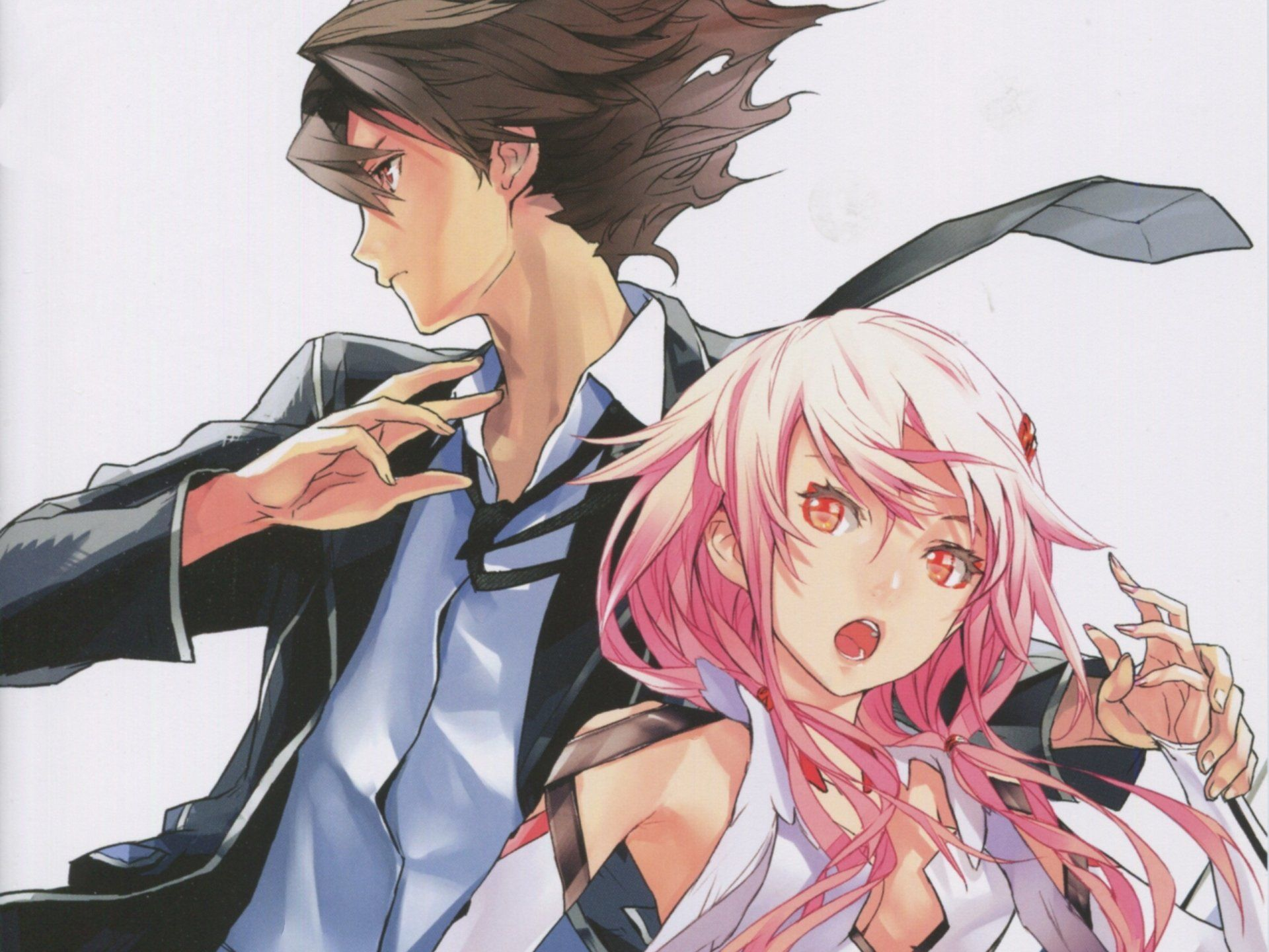 Anime Guilty Crown Anime Inori Yuzuriha Shu Ouma Wallpaper