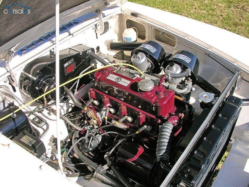 1963 MGB MKI engine bay Car search, Motor engine, Used cars