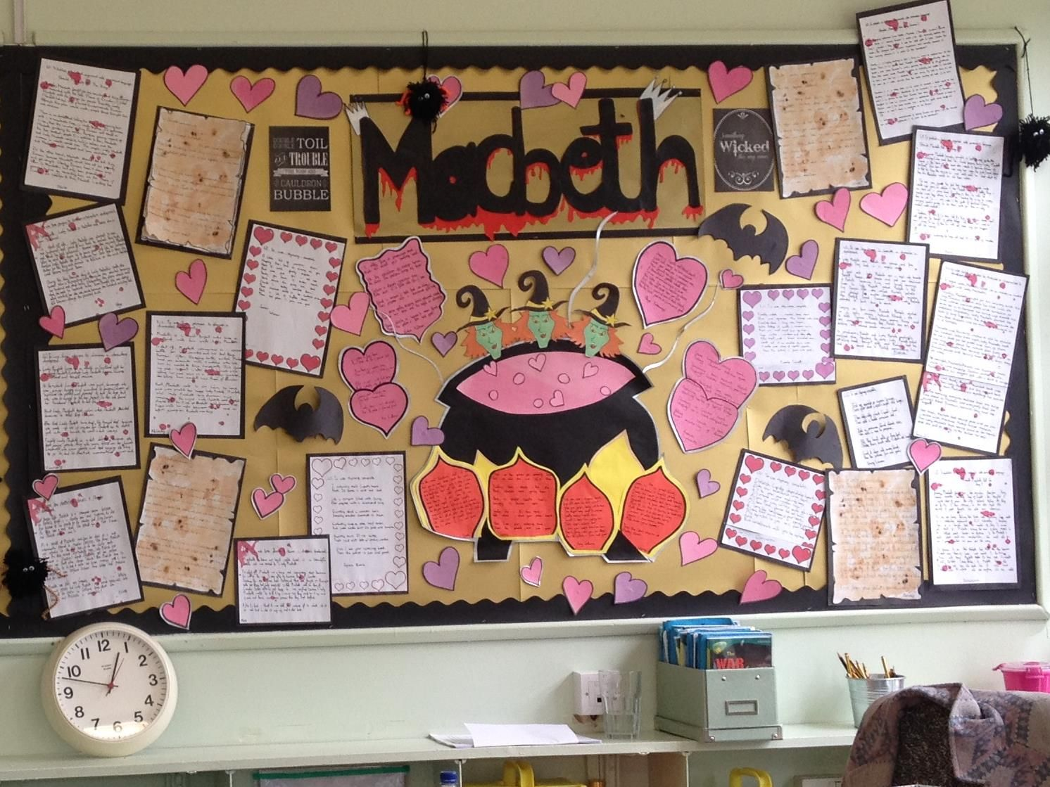 Classroom Ideas Display ~ Macbeth classroom display ideas inspiration and