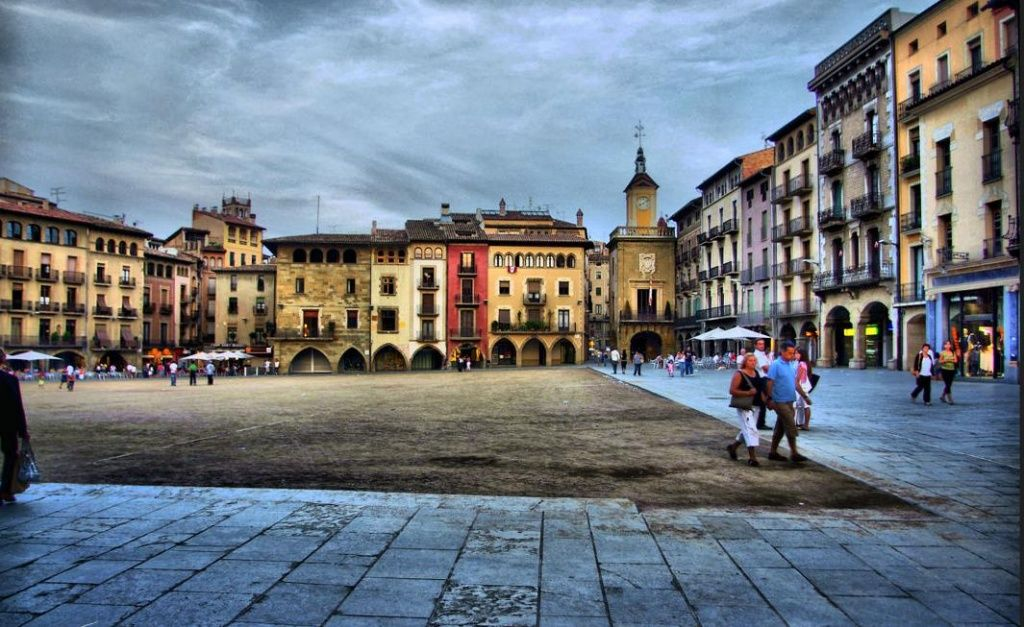 Plaza mayor de Vic