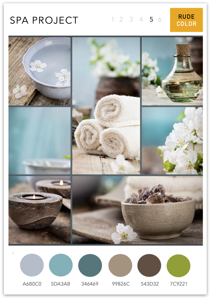 Spa Mood Boards More