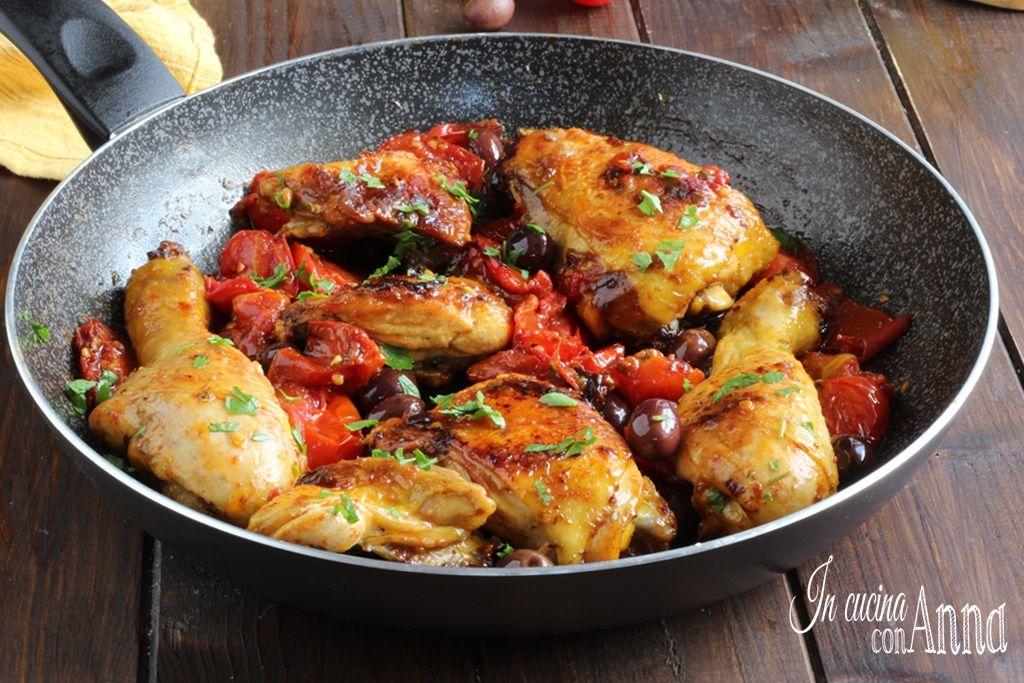 Ricette Italiana Di Pollo.Pollo Alla Cacciatora Ricette Ricetta Pollo Alla Cacciatora Ricette Con Pollo E Verdure