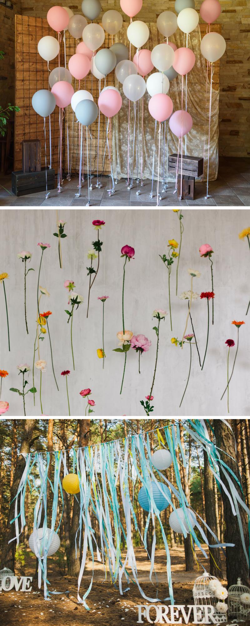 Fotobox für die Hochzeit: 40 coole Fotowand-Ideen #dekorationhochzeit