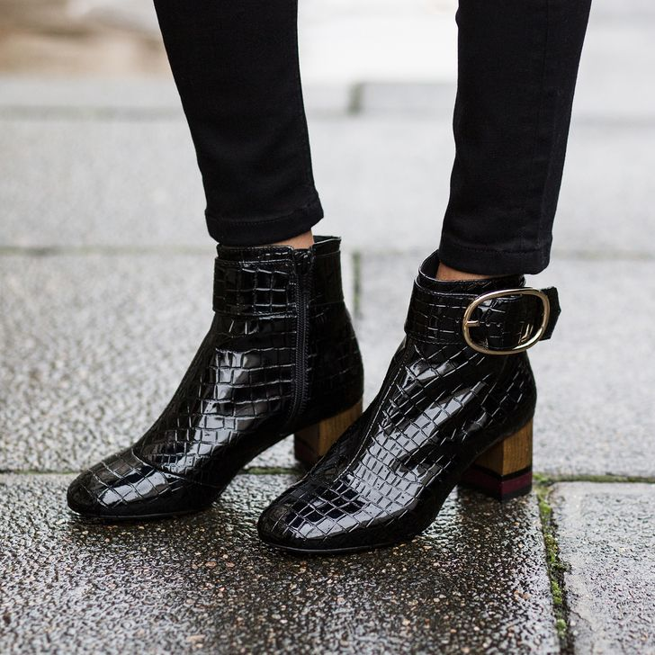62c5f89403c Ringo in 2019 | STYLE | The Little Black Boot | Mid heel ankle boots ...