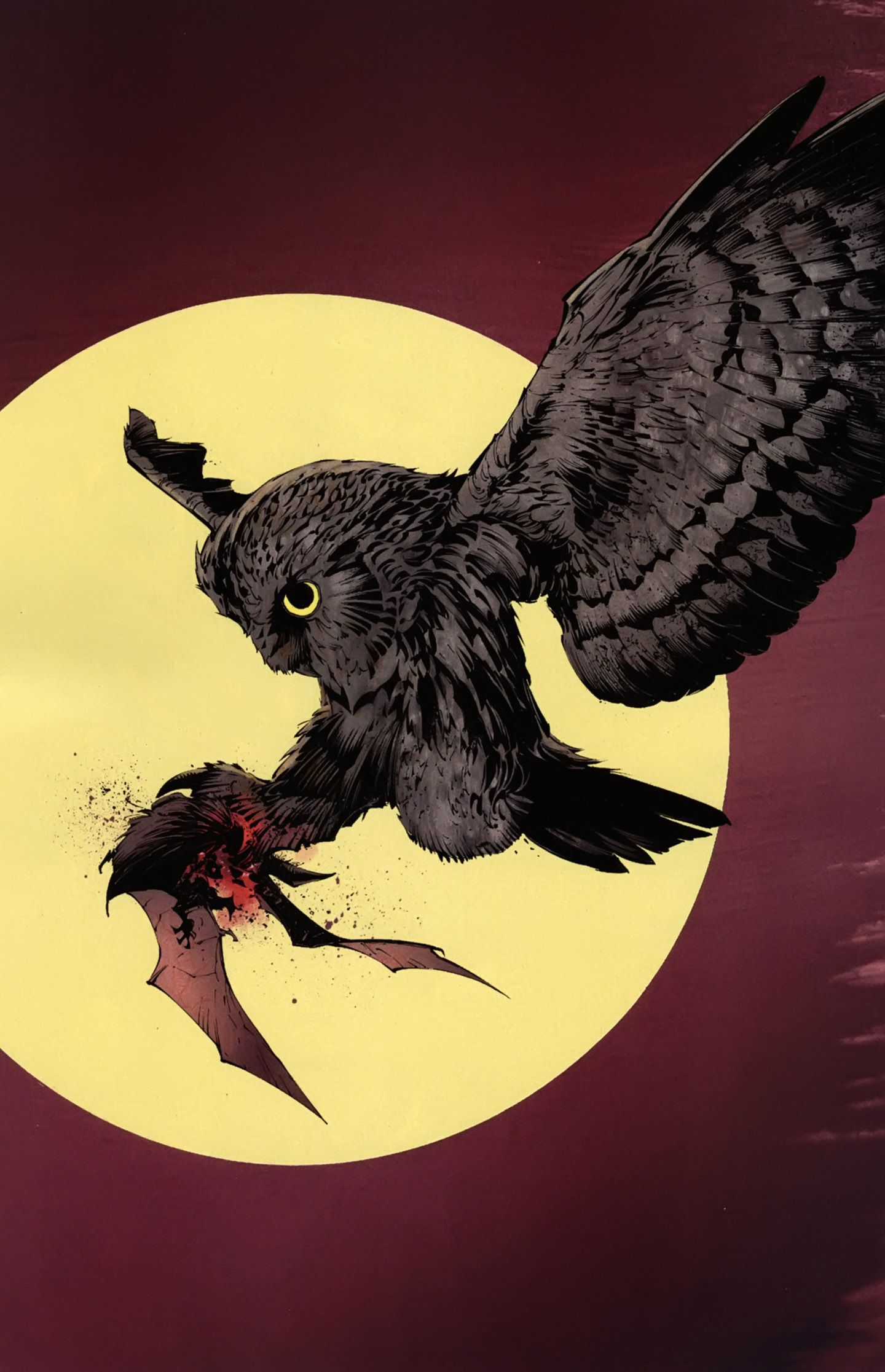 Image result for batman the court of owls rotate panels
