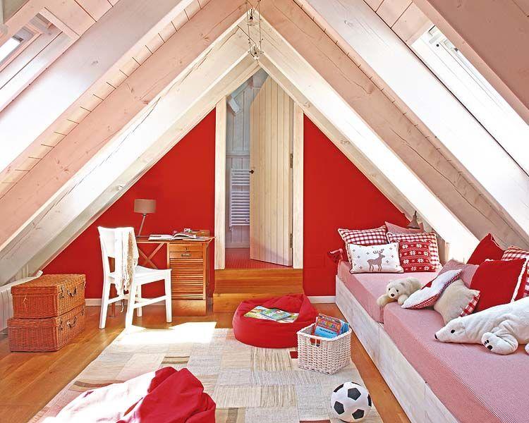 Dormitorio En Rojo Y Blanco Un Detalle A Tener En Cuenta Es La