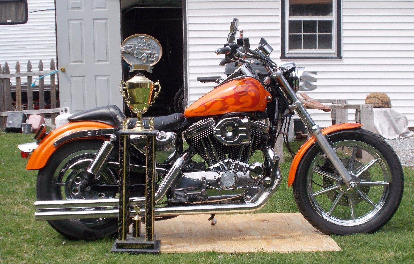 EBay 1991 Harley Davidson Sportster XLH 1200 Harleydavidson