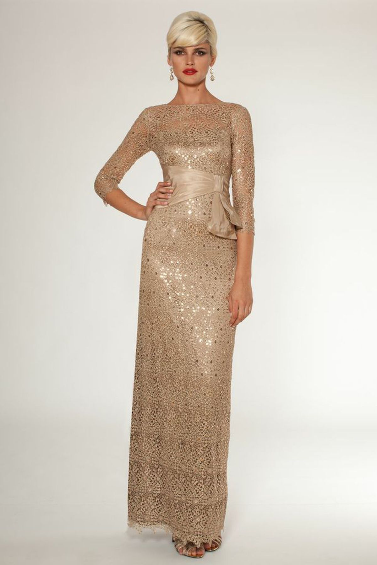 Gold dress for 50th birthday party places | Color dress ...