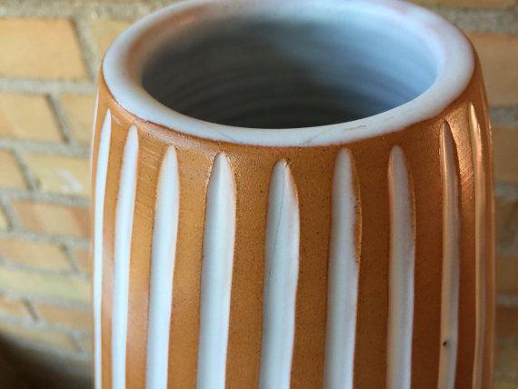 Inca floor vase by Ingrid Atterberg for Upsala by QuirkySundays