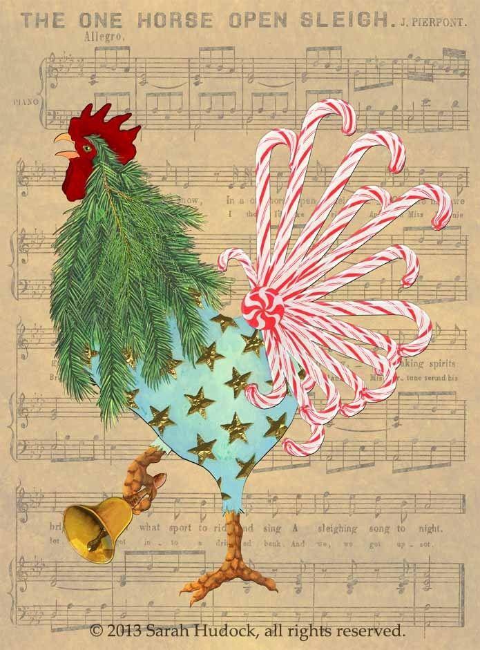 Christmas Card: Jingle Bells   coq   Pinterest   Jingle bells ...