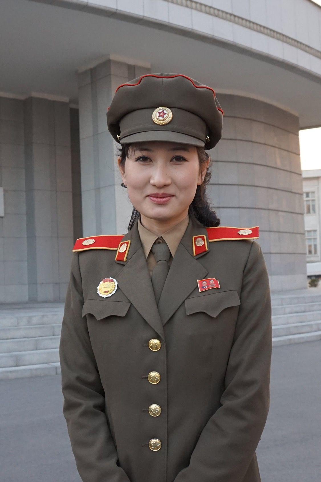 Armed Korean Uniforms Forces