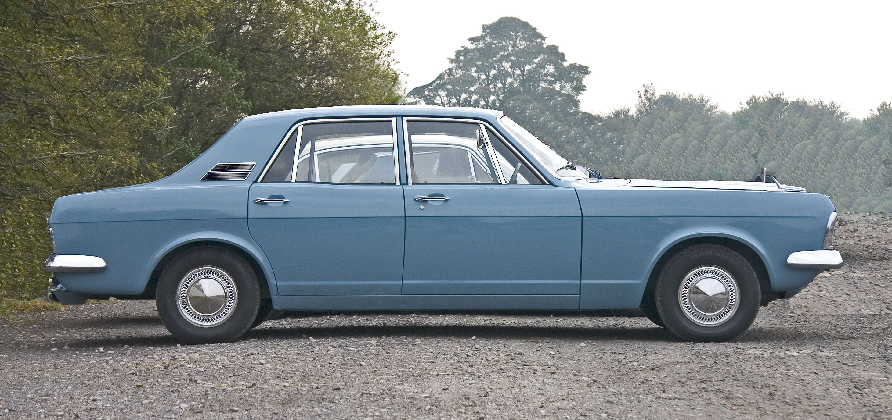 Ford Zephyr 4 Mark Iv The Short Tailed Long Nosed Profile