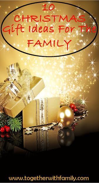 10 Christmas Gift Ideas for the Family Christmas 2015 Pinterest