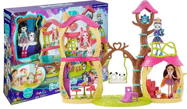 Enchantimals Panda Tree House Playset Review Hottest
