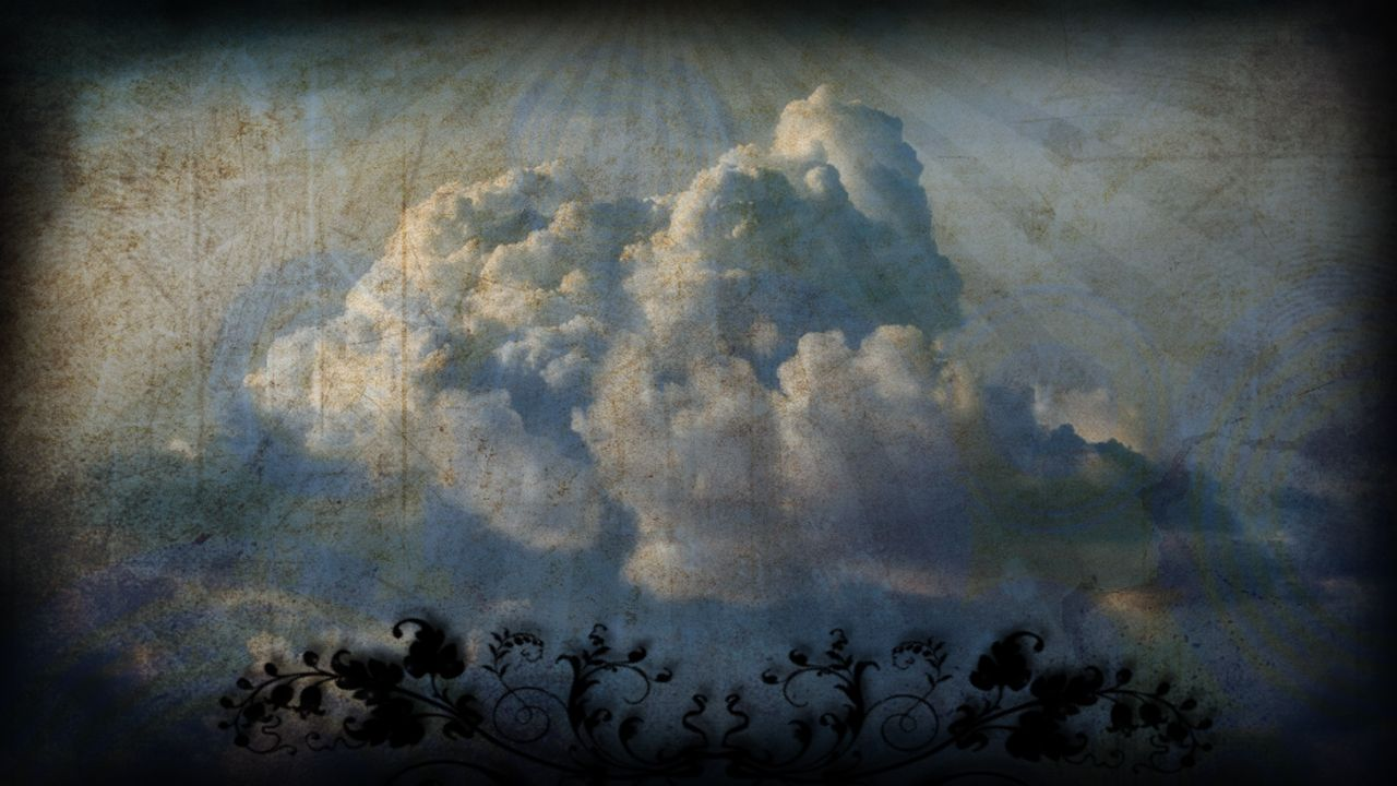 CloudsWithVines (With images) Worship backgrounds