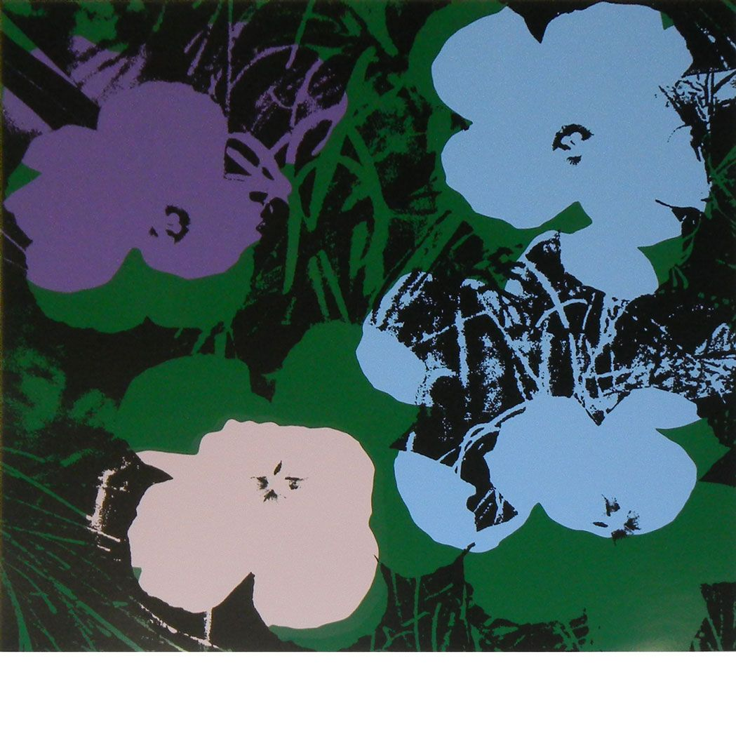 Doyle Lot 15WB02 4 (With images) Andy warhol flowers