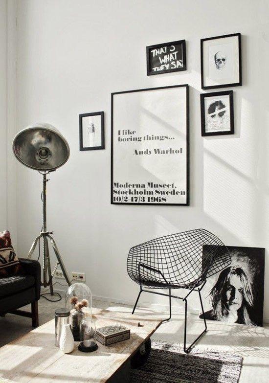 Zwart witte posters voor de woonkamer | Interieur | Pinterest