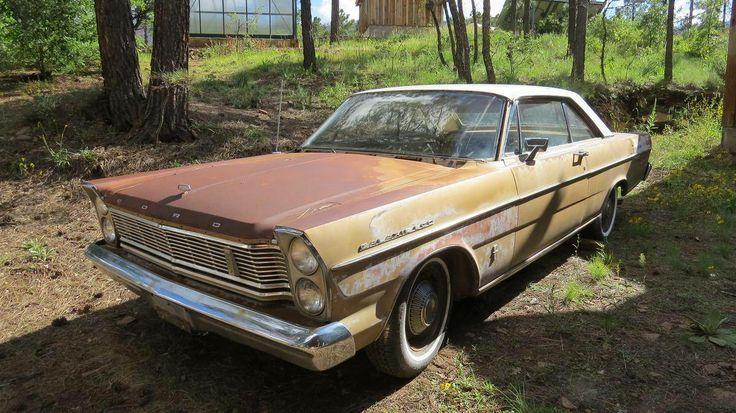 1965 Ford Galaxie 500 2 Door Hardtop Barn Finds Junk Yard Cars