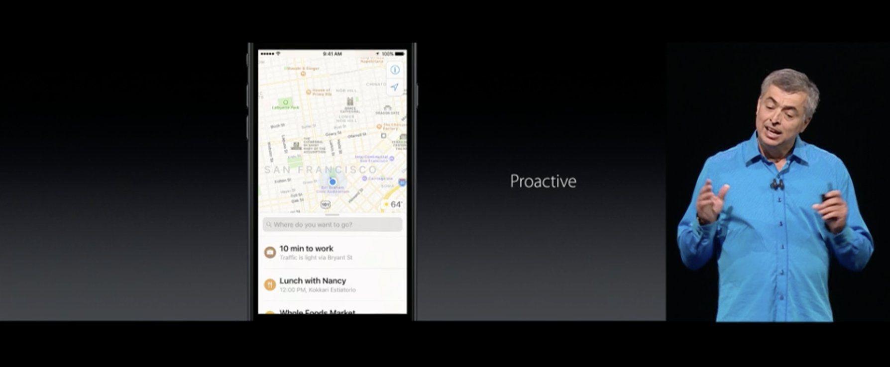 Maps ahora predicirá a donde quieres ir en función de tus hábitos o agenda https://t.co/D2yBwenorP #WWDC2016 https://t.co/wjv6Xpxlrj
