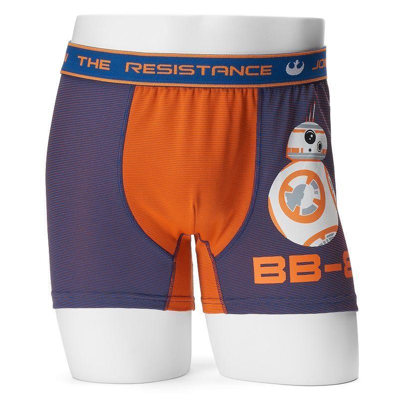 Men's Star Wars BB-8 Boxer Briefs, Size: