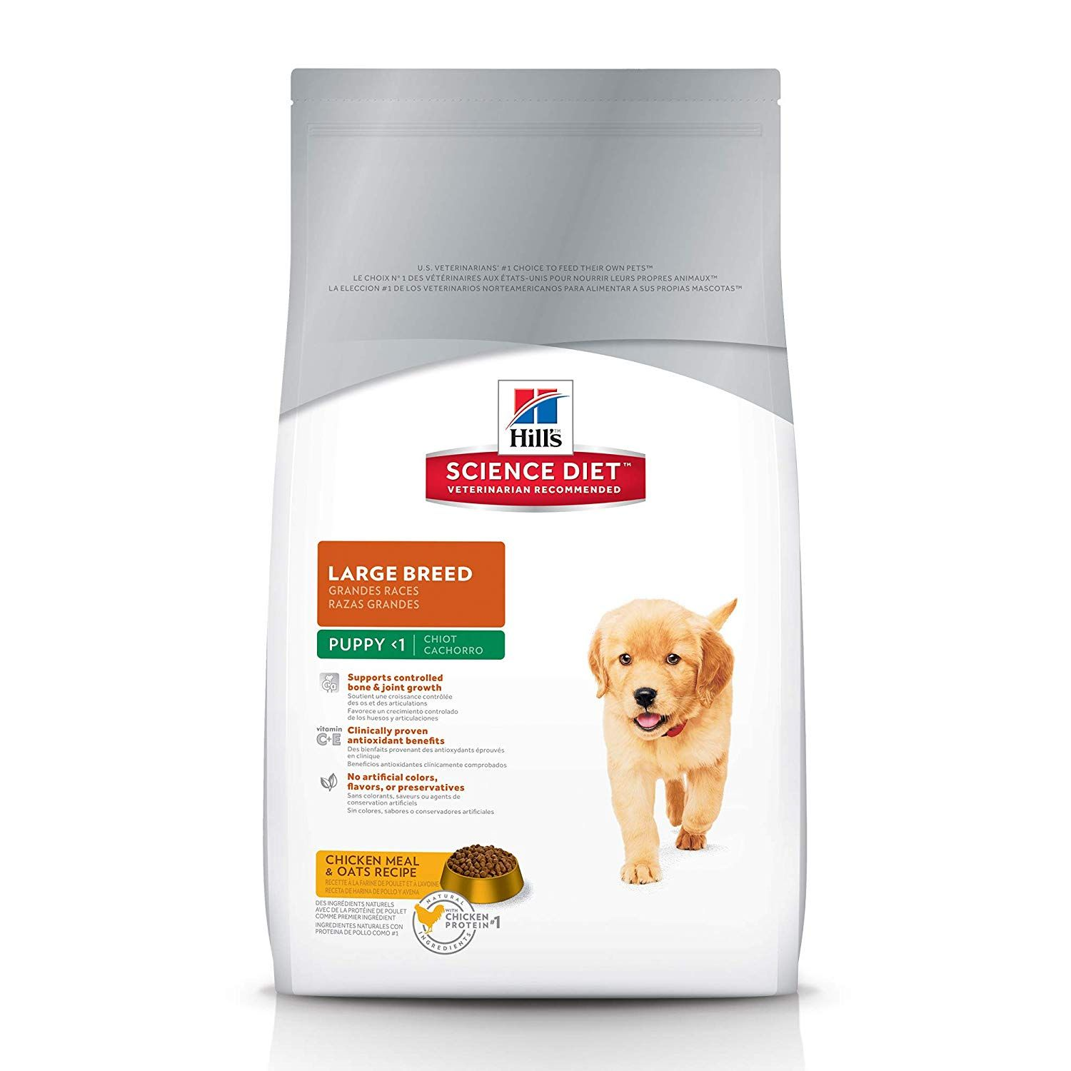 Amazon Com Hill S Science Diet Large Breed Puppy Food Chicken