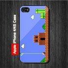 Mario Bross Classic Game iPhone 4, 4S Case - Black Case #iPhone4 #iPhone4 #PhoneCase #iPhone4Case #iPhone4Case