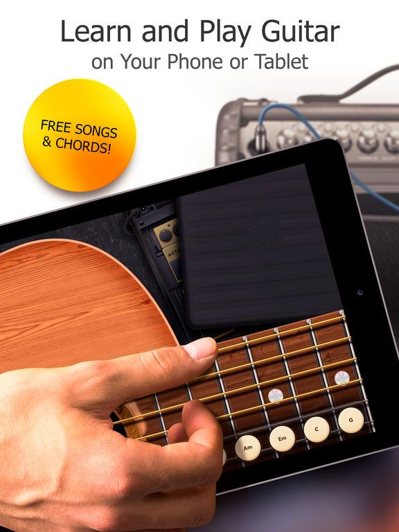 Real Guitar Free: Chords, Tabs & Simulator Games by Gismart ...