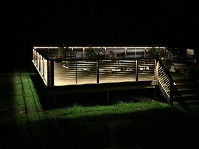 Led Deck Strip Light Handrail Lighting Strip Lighting Deck