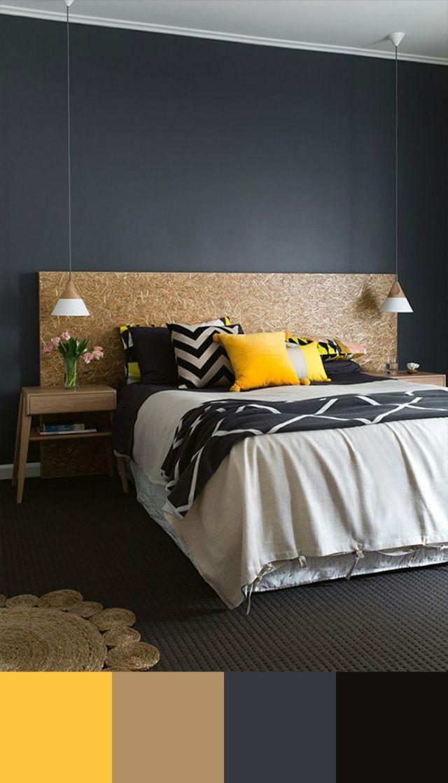 Tendance couleur chambre à coucher unique Bedrooms, Salons and - couleur chambre de nuit