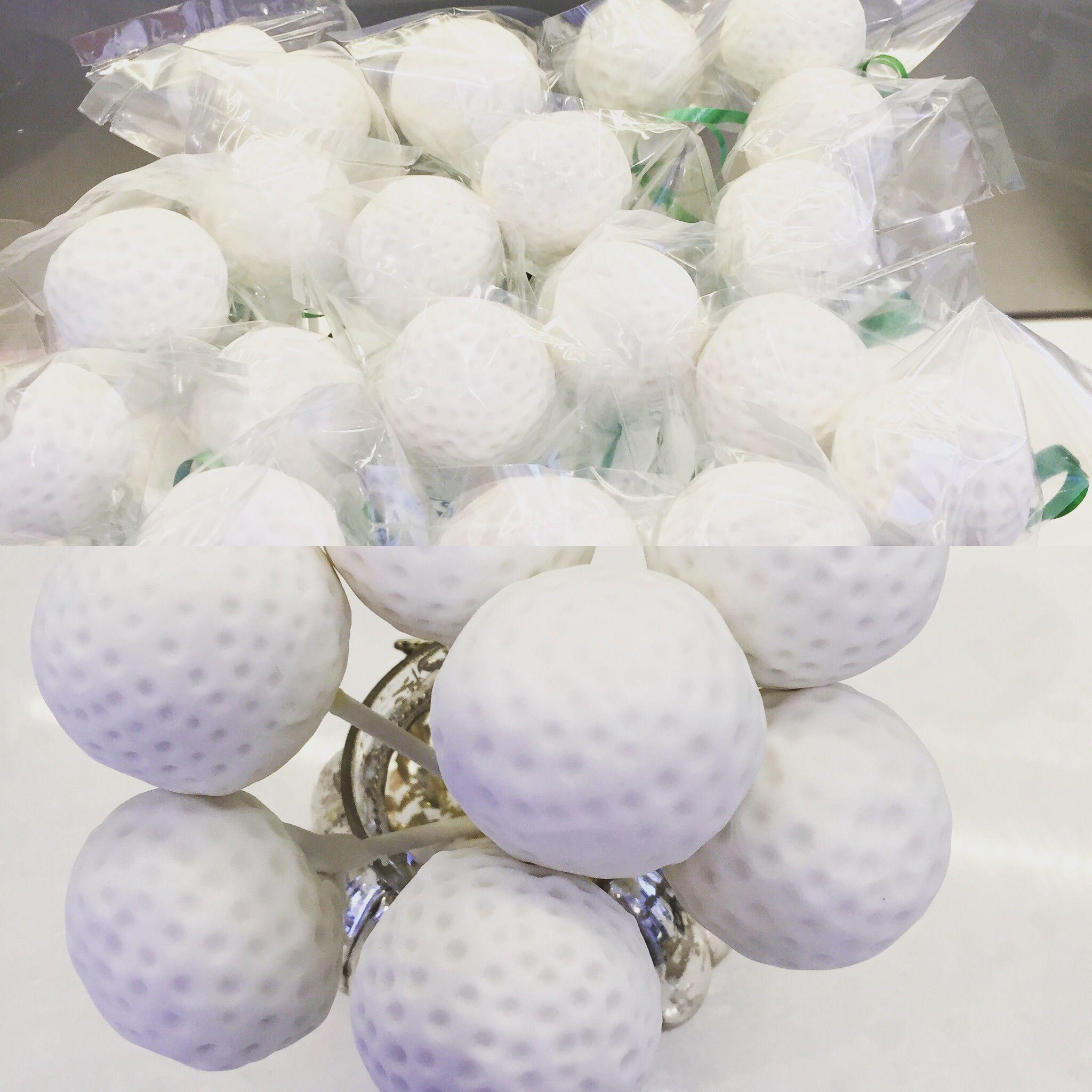 Crazy, crazy Golf ball Cake Pops!   Recent cakes   Pinterest   Golf ...