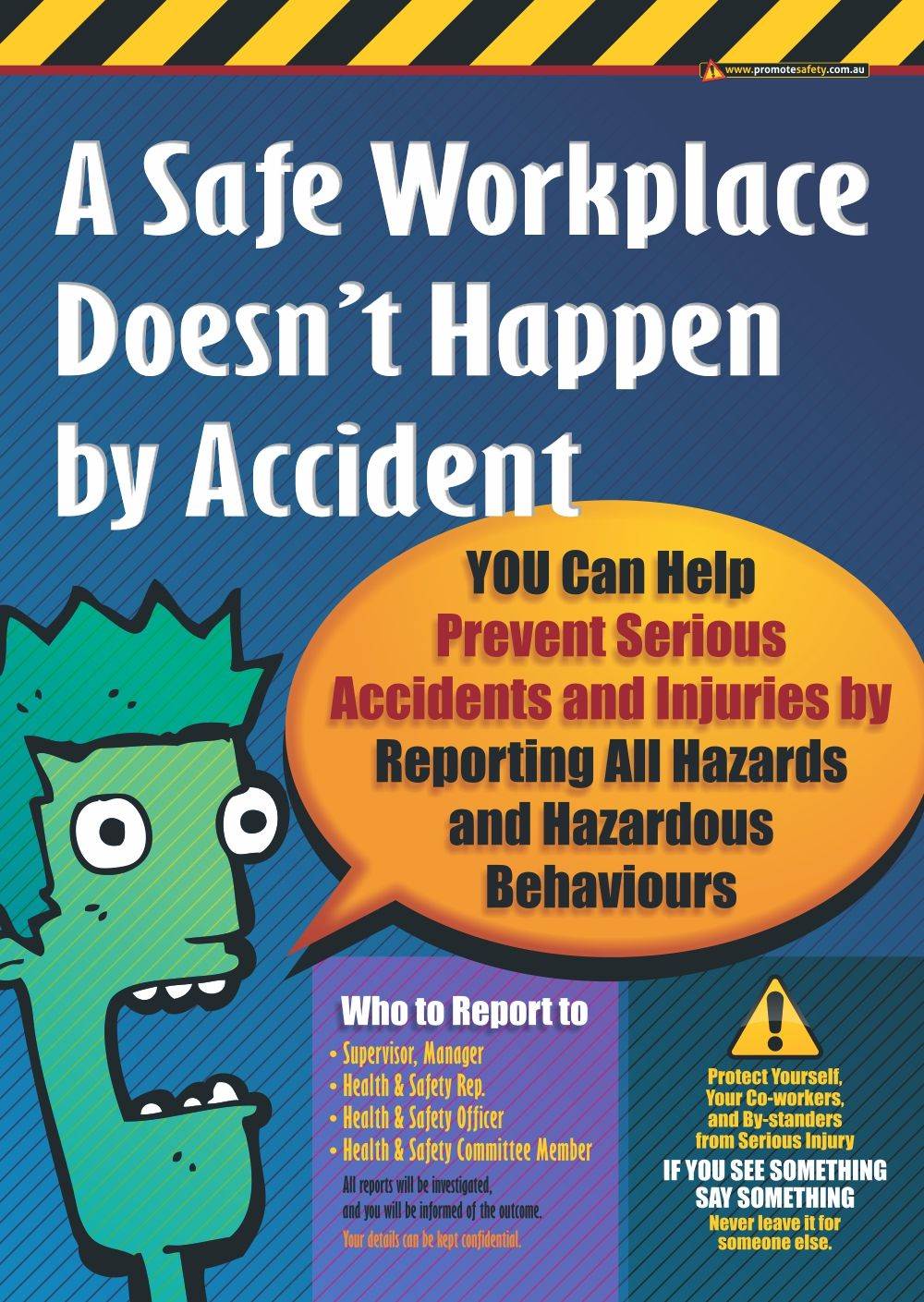 One of the main causes of serious workplace injury is that
