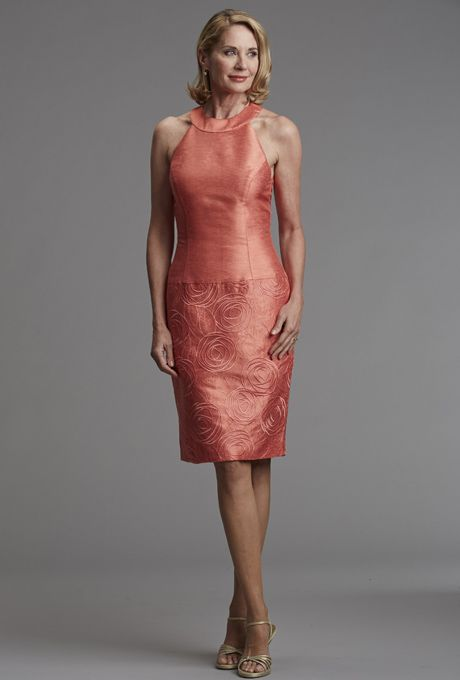 Coral for the Mother of Groom Dresses
